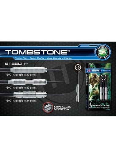 Tombstone Fusion Alloy Çelik Uçlu Dart-20 Gram-Winmau